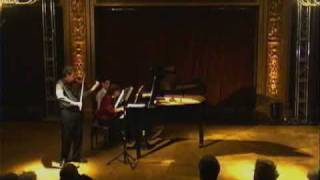 3º mov Sonata  op. 12 nº 2 - Beethoven - Luis Roggero, violín - Beatriz Feldman, piano