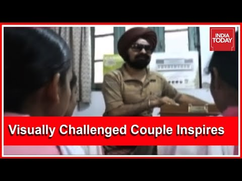 Visually Challenged Couple Inspires All By Teaching Music | Good News Today