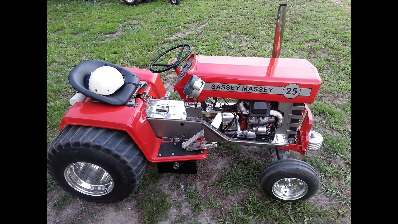 Modified Garden Pulling Tractors