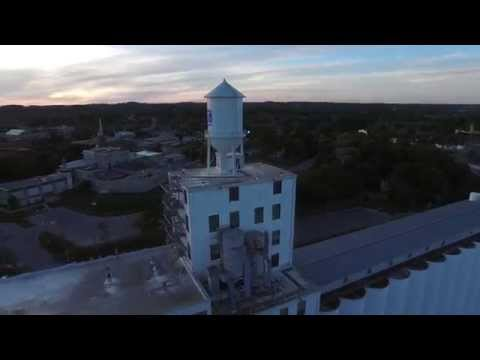 Quaker Oats Factory, Peterborough Ontario (4K Drone Footage)