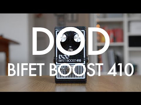 DOD Bifet Boost 410 demo with single coils