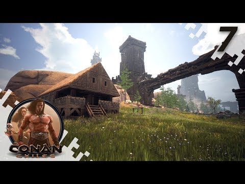 CONAN EXILES: THE FROZEN NORTH - Making Life Easier! - EP07