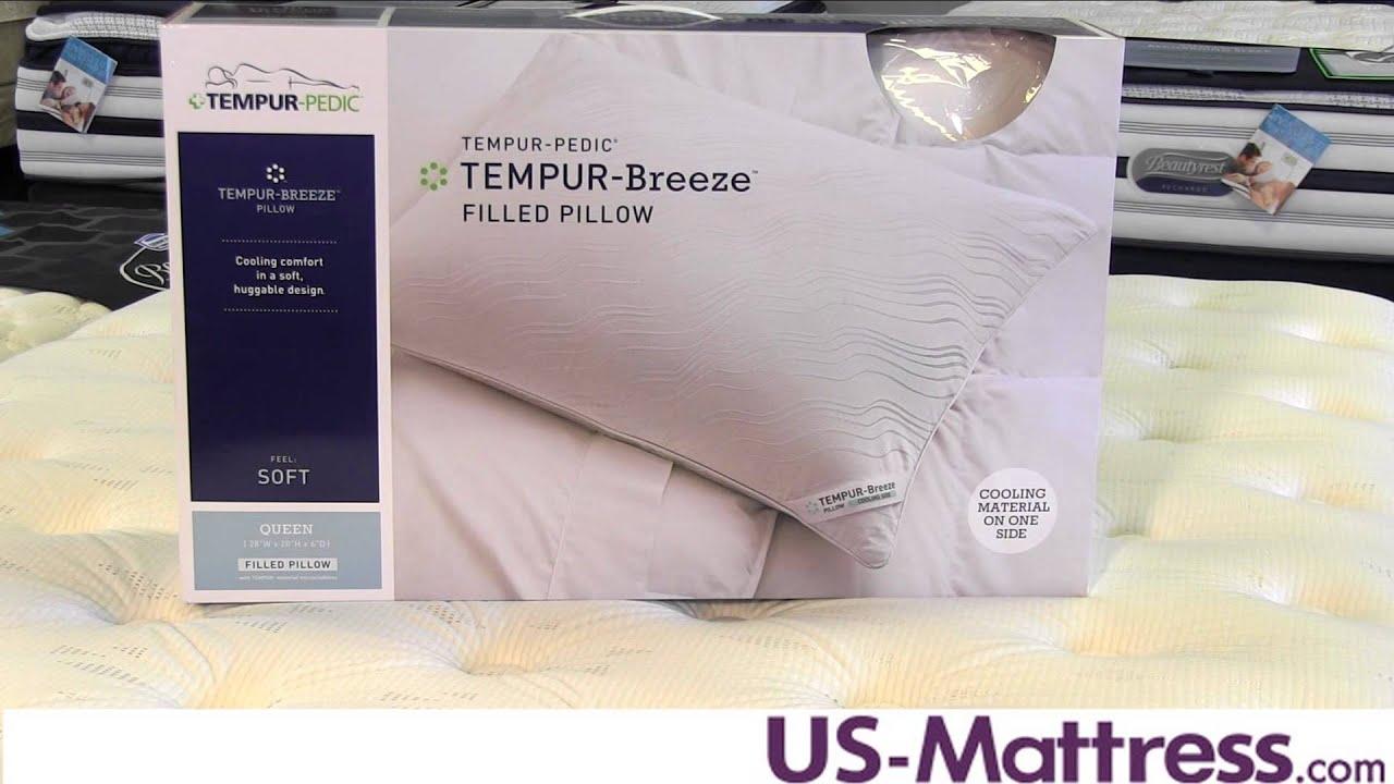 TEMPUR Breeze Pillow YouTube