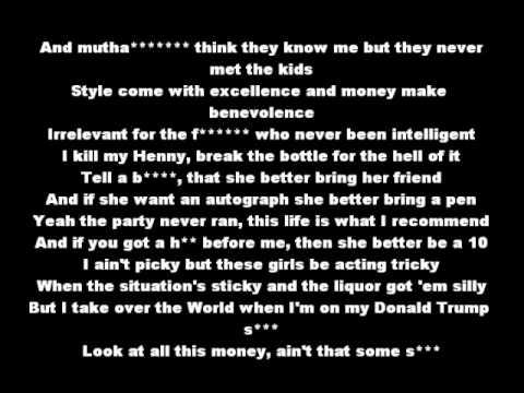 Donald Trump - Mac Miller Lyrics Clean - YouTube