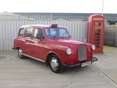 A Wonderfully Nostalgic and Iconic Carbodies Built LTi FX4 Fairway London Taxi - SOLD!