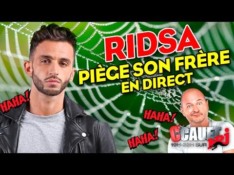 Ridsa piège son frère en direct - C'Cauet sur NRJ