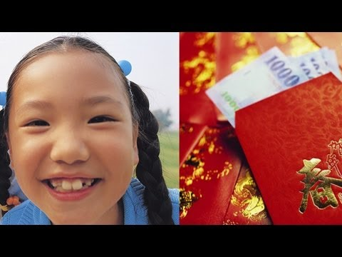 What Chinese Kids Do With Their Red Pocket Money