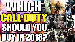 5 MOST ACTIVE CALL OF DUTY GAMES IN 2018 - What COD is EVERYONE Playing?