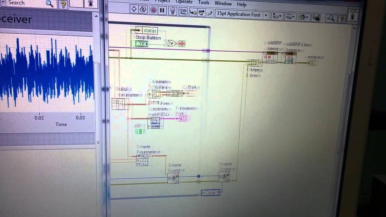 Playing with NI USRP 2920: FM radio