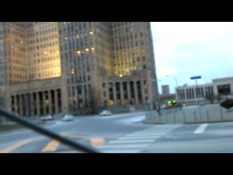 Buffalo, New York. City Hall Courthouse Downtown