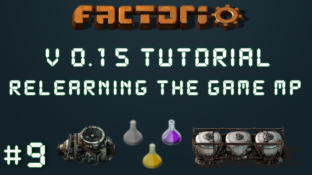 Factorio 0.15 Tutorial Series EP9: High Tech Science Packs!   Relearning  The Game Multiplayer