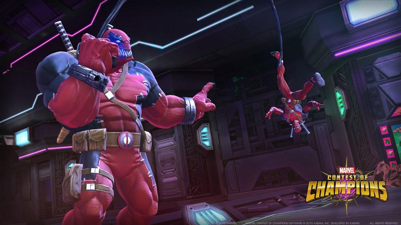 Marvel Contest Of Champions Venompool Spotlight Youtube