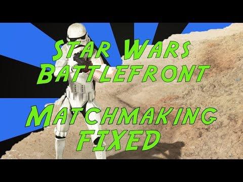 battlefront 2 matchmaking problems