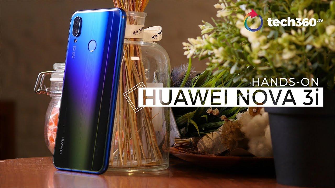 Hands-on: Huawei Nova 3i