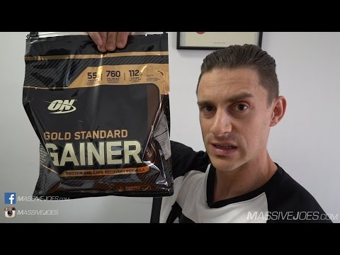 Optimum Nutrition Gold Standard GAINER Protein Powder Supplement Review - MassiveJoes.com RAW Review