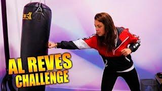 AL REVÉS CHALLENGE EN EL GYM!!