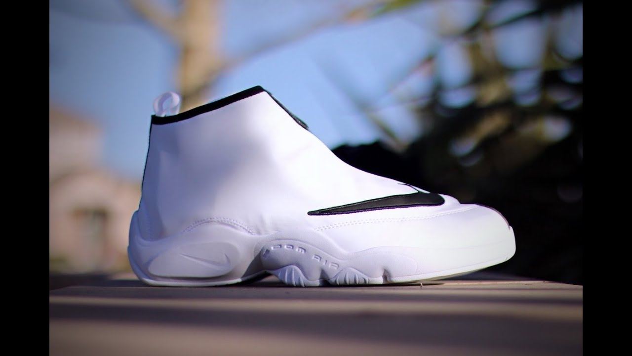 35b81ecf8b1cd Nike Air Zoom Flight The Glove - White Black Poison Green - YouTube