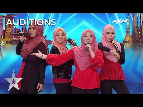 NAMA PROVES That Talent Can't Be Judged From The Outside | Asia's Got Talent 2019 on AXN Asia