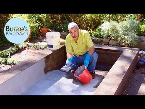 Burke's Backyard, Fixing a Leaking Pond