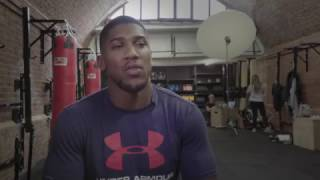 Anthony Joshua Interview