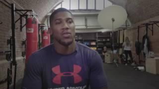 Anthony Joshua Interview