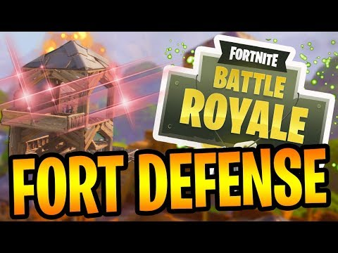 FORT DEFENSE! - Fortnite Battle Royale Gameplay
