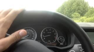 Тест драйв BMW X3  xDrive28i part 1