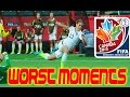 The Worst Moments/Fails of the 2015 Women's World Cup