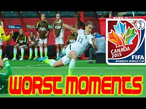 The Worst Moments/Fails of the 2015 Women\'s World Cup