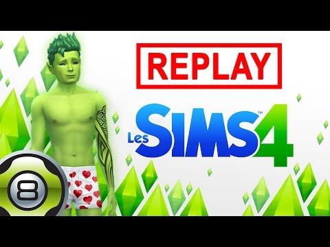 Les Sims 4 FR - Ted Alien - Extraterrestre le plus sexy de l'univers ? - Replay du 24.06.15