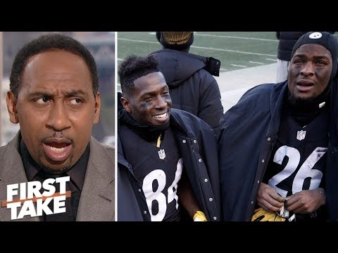 Stephen A. 'fearful' for Le'Veon Bell's return to divided Steelers' locker room | First Take