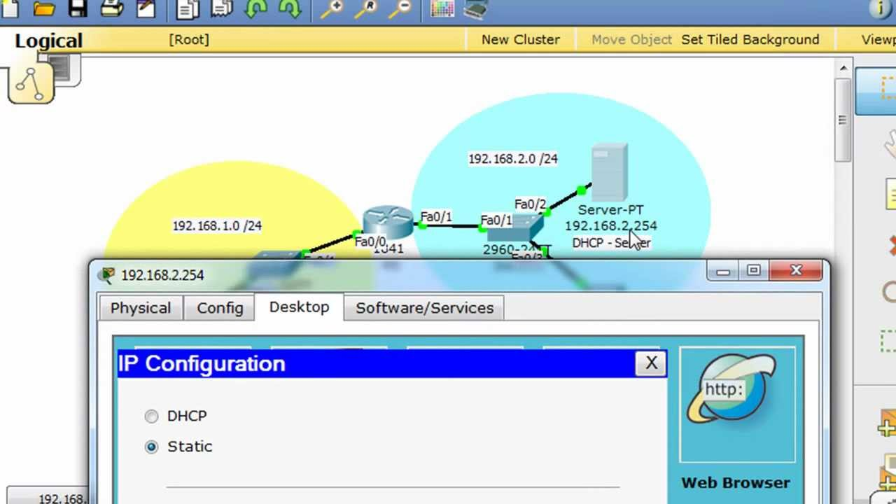 Configure the router as a DHCP relay agent CCNA YouTube