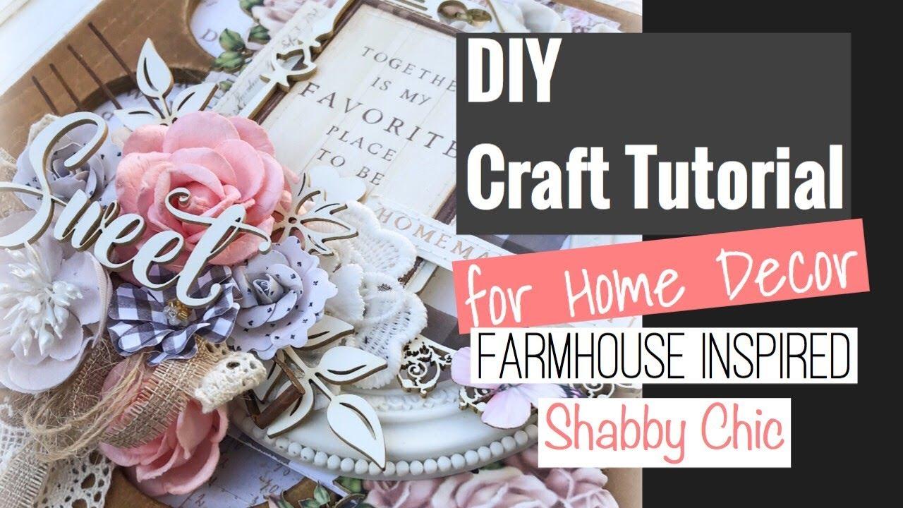 8x8 Farmhouse Inspired Diy Home Decor