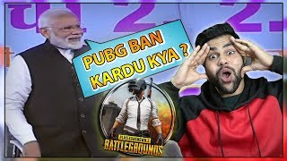 PUBG BANNED IN INDIA - YE PUBG WALA HAI KYA | PM Modi Talks About Online Gaming