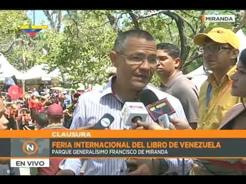 Ministro Villegas: Más de 10 mil personas acudieron a Filven capítulo Miranda