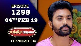 CHANDRALEKHA Serial | Episode 1298 | 04th Feb 2019 | Shwetha | Dhanush | Saregama TVShows Tamil