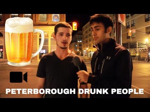 DRUNK PEOPLE ON POLITICS IN PETERBOROUGH ONTARIO