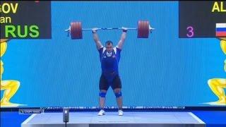 Кубок Президента РФ - 2015. Тяжелая атлетика. Мужчины свыше 105 кг