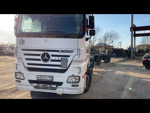 Mercedes-Benz Actros !!! НЕ УМЕЮ ЕЗДИТЬ ЗАДОМ (((