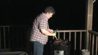 Smoked Pork Ribs And Grilled Gator (part 2)