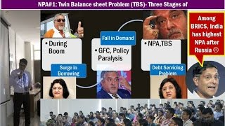 Gambar cover Bank NPA #1: Twin Balance sheet Problem (TBS)- Three Stages [Economic Survey Chapter 4]