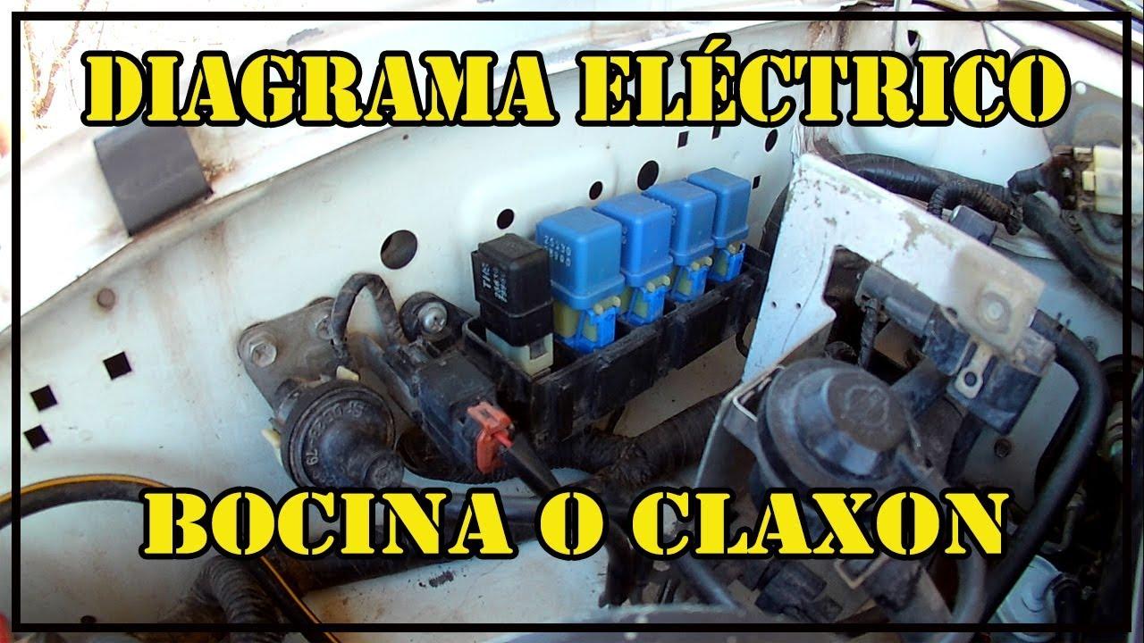Diagrama Electrico Bocina O Claxon