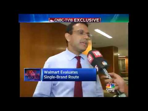 CNBC-TV18 Exclusive: Walmart May Rejig India Business Model