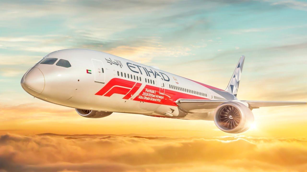Formula 1 Abu Dhabi GP 787 Dreamliner: Livery Painting Timelapse | Etihad Airways
