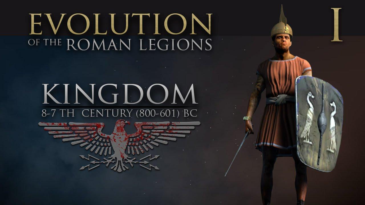 evolution of the roman legions part 1 kingdom 8 7th century bc