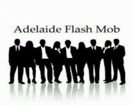 Adelaide Flash mob on Radio Adelaide