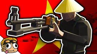VIETNAM WAR, VIETCONG MOD PACK! | Ravenfield Weapon and Vehicle Mod Beta Gameplay