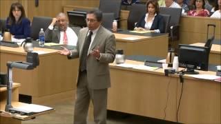 Juan Martinez badgering and yelling at defense witness Dr  Richard Samuels