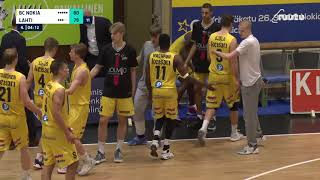 Wes Washpun layup | vs. Lahti Basketball 23.1.2021