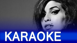 Amy Winehouse – Back To Black Lyrics Instrumental Karaoke